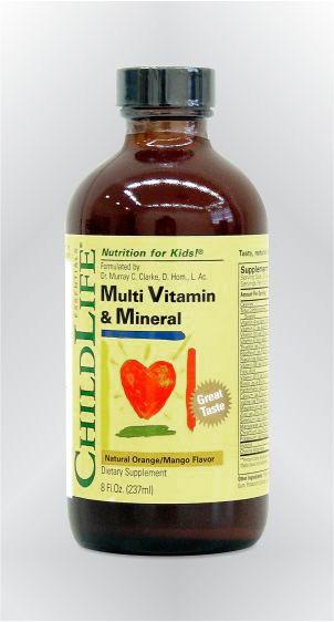 Multivitamini i minerali - tekući - CHILDLIFE