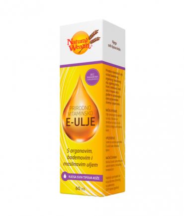 Prirodno vitaminsko E - ulje Natural Wealth