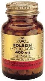 Solgar Folacin (Folna kiselina) 400 mcg