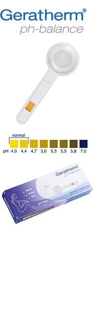 pH balance - Geratherm - test za utvrđivanje pH vrijednosti vaginalne flore