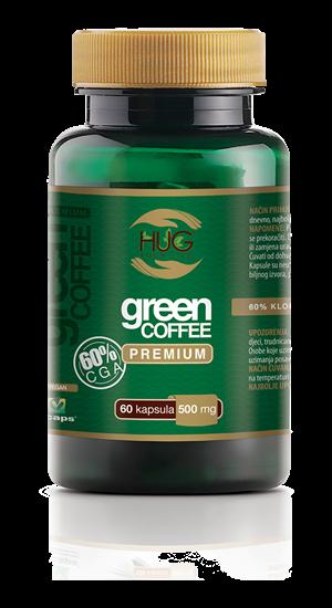 GREEN COFFEE 60% CGA Premium