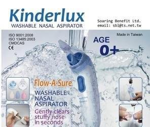 Kinderlux Flow-a-sure dječji aspirator za nos