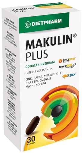 Dietpharm Makulin plus kapsule