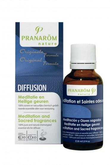 Meditation and sacred fragnances - mješavina za difuzer - PRANAROM
