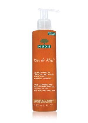 Nuxe Medeni snovi gel za čišćenje lica i uklanjanje šminke