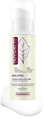 Noviderm Melatrio anti-ageing fluid
