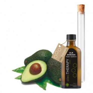 Avokado, ulje (hladno tiješteno) - oleoTHERAPY