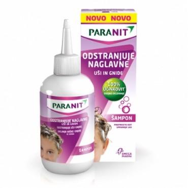 Paranit šampon protiv ušiju i gnjida + češalj