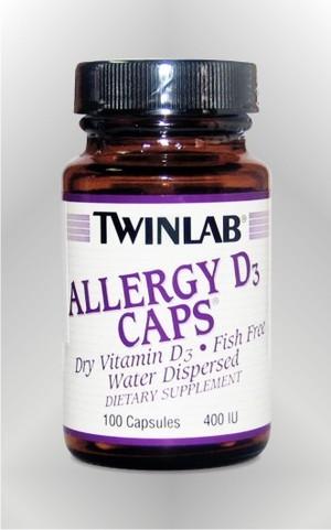 Allergy D3 - kapsule - TWINLAB