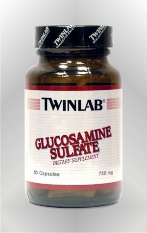 Glukozamin sulfat - kapsule - TWINLAB