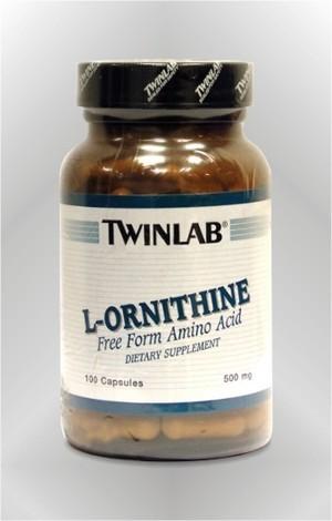 L-Ornitin - kapsule - TWINLAB