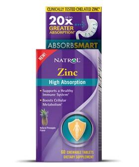 Natrol® Zinc High Absorption